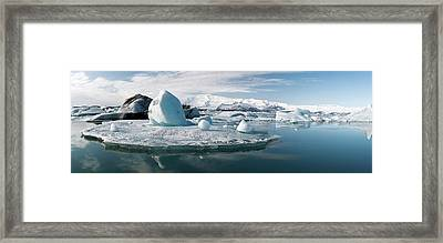 Glacial Lagoon Framed Print by Jeremy Walker