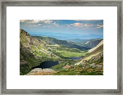 Glacial Valley Framed Print by Jim West