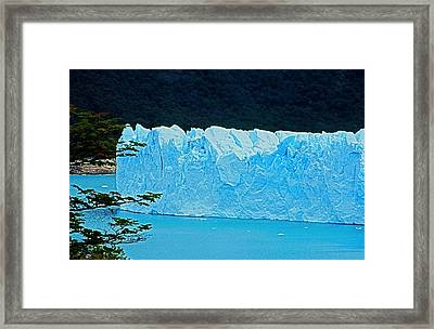 Glaciar Perito Moreno - Patagonia Framed Print by Juergen Weiss