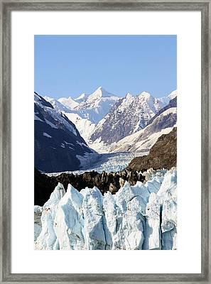 Framed Print featuring the photograph Glacier Bay Alaska by Sonya Lang