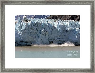 Glacier Bay Alaska Framed Print by Sophie Vigneault