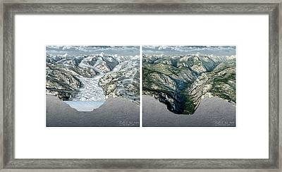 Glacier-carved Kings Canyon Framed Print by Nicolle R. Fuller