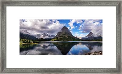 Glacier Grandeur Framed Print