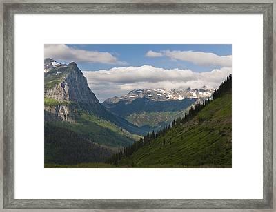 Glacier National Park Framed Print by John Shaw