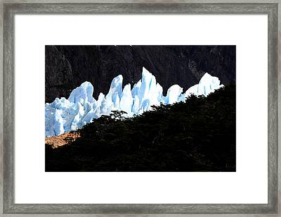 Glacier Onelli Framed Print by Arie Arik Chen