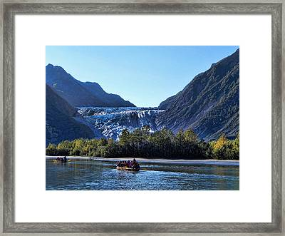 Glacier Point Framed Print by Kathy Churchman