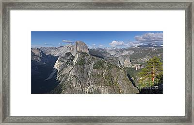 Glacier Point Pano Framed Print