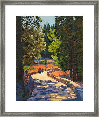 Glacier Point Walk Framed Print