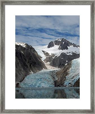 Glacier Reflection Framed Print by Aimee L Maher Photography and Art Visit ALMGallerydotcom