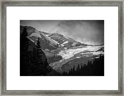 Glacier Framed Print by Stuart Deacon