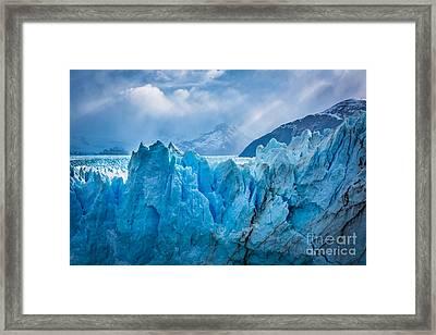 Glacier Symphony Framed Print