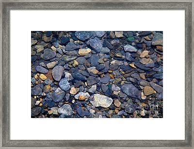 Glacier Till Framed Print by Chris Heitstuman
