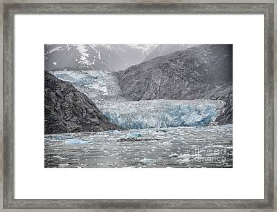 Glacier Tracy Arm Fjord Framed Print by JRP Photography