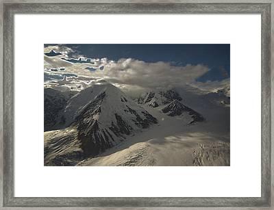 Glaciers Galore Framed Print by David Kehrli