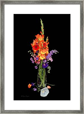 Glad Vase Framed Print