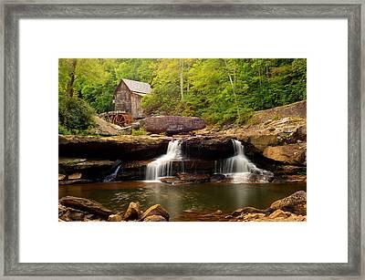 Glade Creek Grist Mill - Cooper's Mill Framed Print