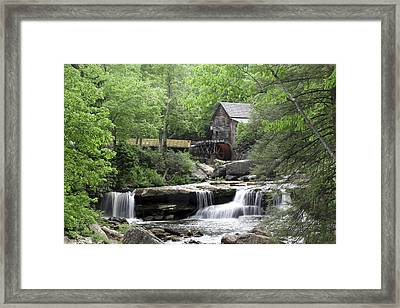 Framed Print featuring the photograph Glade Creek Grist Mill by Robert Camp