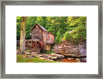 Glade Creek Mill  Framed Print by Gregory Ballos