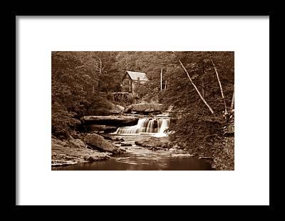 Grist Mill Framed Prints