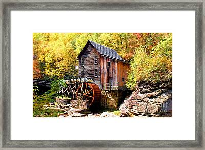 Glade Creek Mill West Virginia Framed Print