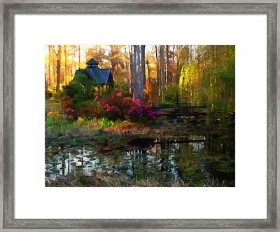 Glade Guinevere Framed Print by Mark Wickham