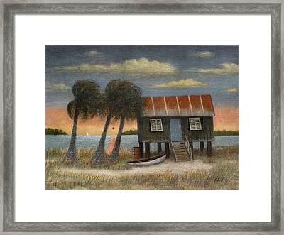 Glades Dweller Framed Print