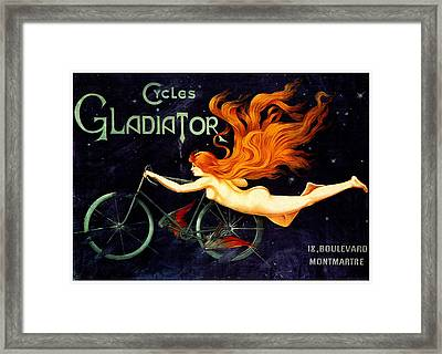 Gladiator Cycles Framed Print by Charlie Ross