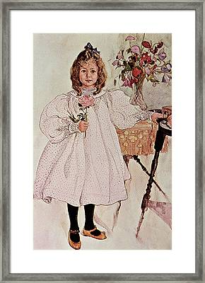 Gladys Framed Print
