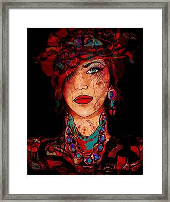 Glamor Framed Print by Natalie Holland