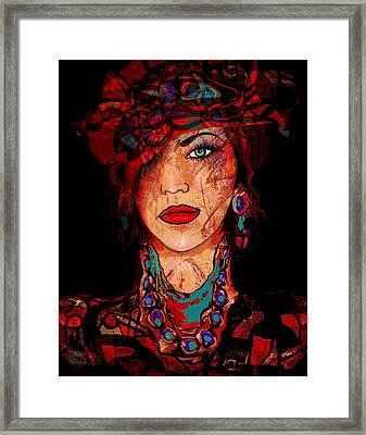 Glamor Framed Print