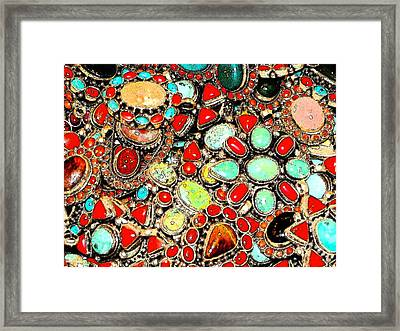 Framed Print featuring the photograph Glamorous Glitter by Ira Shander