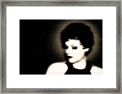 Glamour Of Days Gone By Framed Print by Lisa Knechtel