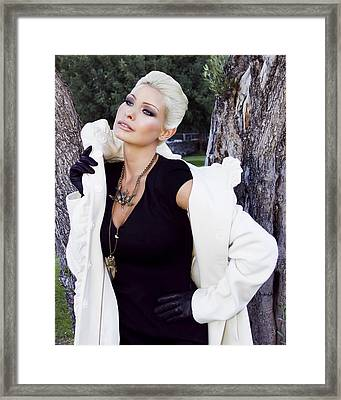 Glamour Palm Springs Framed Print
