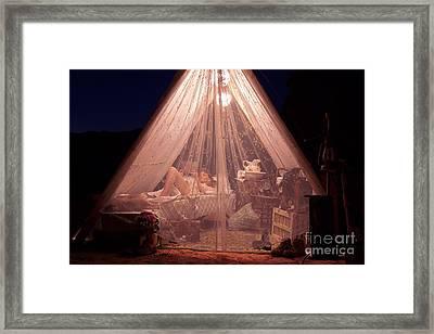 Glamping Framed Print