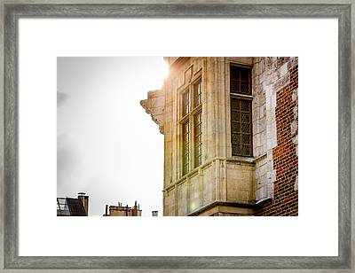 Glance At Heaven Framed Print by Pati Photography