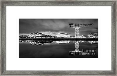 Glasgow By Night Framed Print