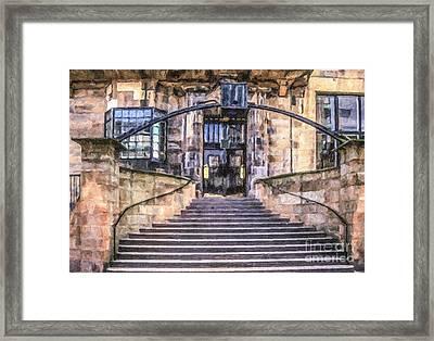 Glasgow School Of Art Framed Print