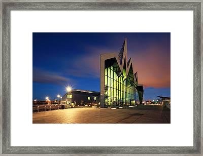 Glasgow Transport Museum Framed Print by Grant Glendinning