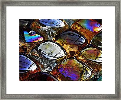 Glass Abstract 13 Framed Print by Sarah Loft