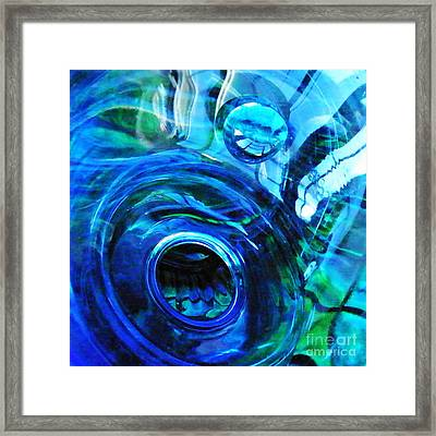 Glass Abstract 213 Framed Print