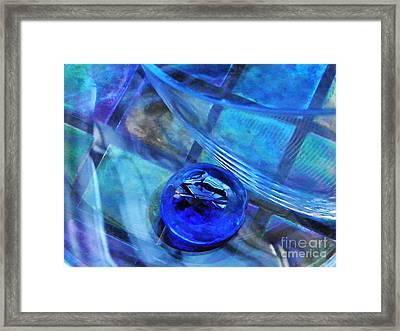 Glass Abstract 238 Framed Print by Sarah Loft