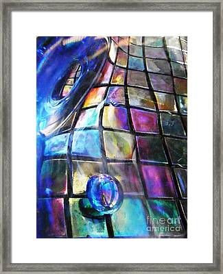 Glass Abstract 239 Framed Print