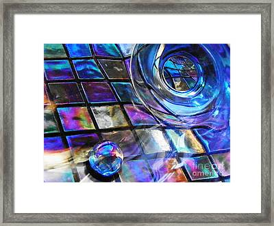 Glass Abstract 241 Framed Print