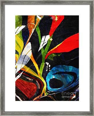 Glass Abstract 297 Framed Print by Sarah Loft