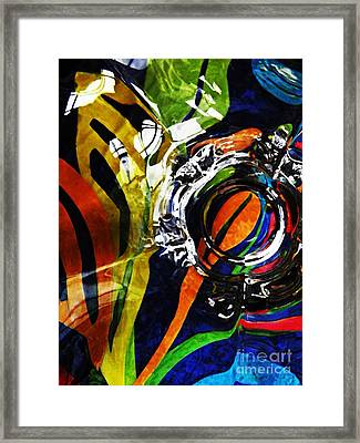 Glass Abstract 300 Framed Print