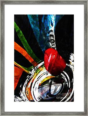 Glass Abstract 302 Framed Print