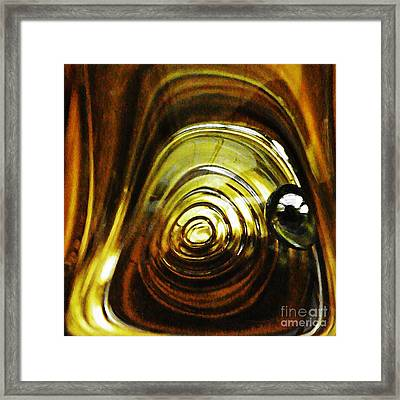 Glass Abstract 401 Framed Print