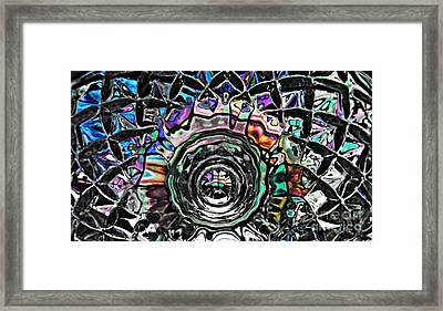 Glass Abstract 431 Framed Print