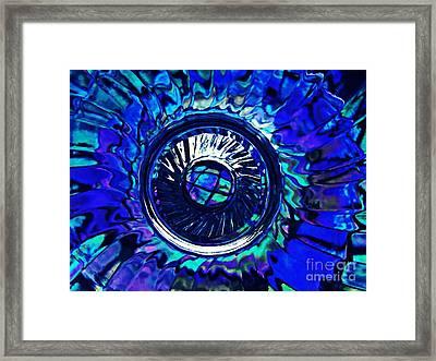 Glass Abstract 481 Framed Print by Sarah Loft
