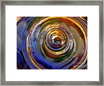 Glass Abstract 564 Framed Print